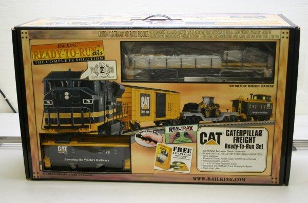 2698: MTH O Gauge Caterpillar Train Set 30-4053-1 - 6