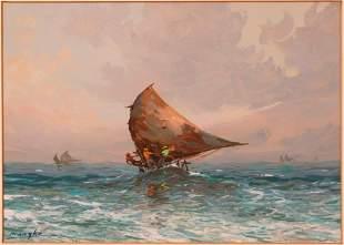 Reinaldo Manzke (1906-1980). Four Paintings.
