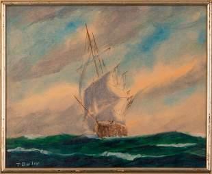 T. Bailey. Ship Tobe Carlson, 1859-1869.