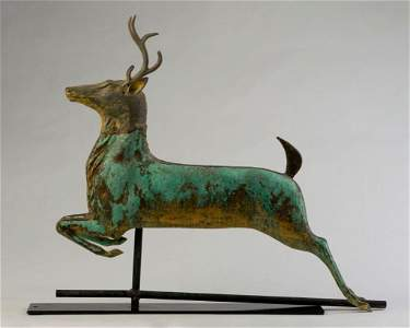 Leaping Stag Weathervane.