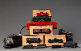 Lionel Train Set.