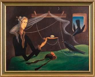 Thomas Fransioli Surrealist Portrait.