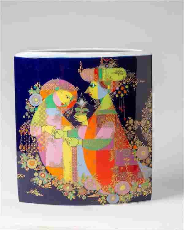 Bjorn Wiinblad 1001 Nights Vase.