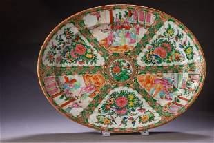Chinese Rose Medallion Platter.