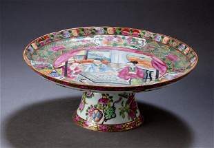 19th Century Chinese Export Tazza.