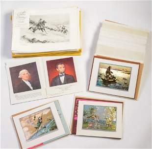 Extensive Collection of Brown & Bigelow Art Prints.
