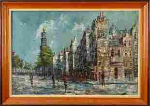 Hermann Maarten Huisman. European Street Scene.