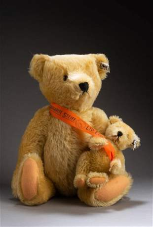 101st Anniversary Steiff Bear Set.