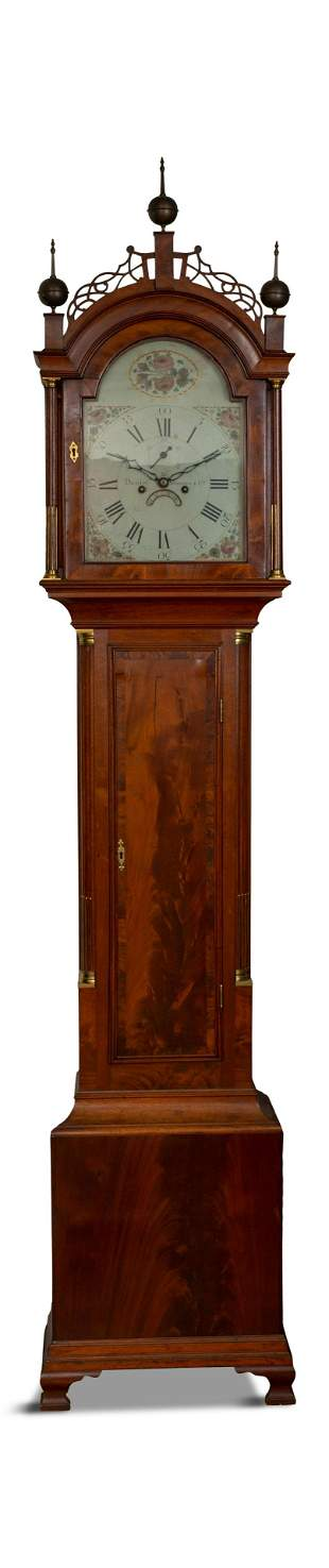 Daniel Munroe Tall Case Clock.