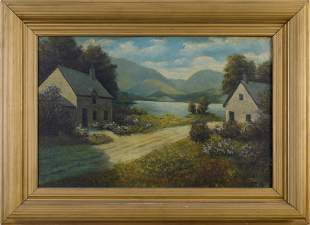 T. Bailey Landscape Painting.