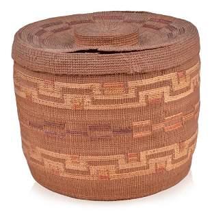 Tlingit Covered Basket