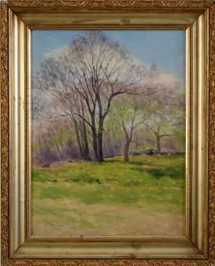 George Frederick Morse Landscape Painting.