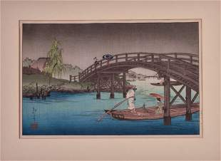 Shoda Koho Japanese Woodblock Print.