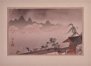Shoda Koho Japanese Woodblock Print