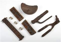Tools, Hunting Fishing Box Lot.