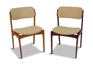 Two Erik Buch Model 49 Dining Chairs.