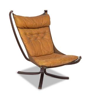 Falcon Chair by Sigurd Ressell for Vatne Mobler.