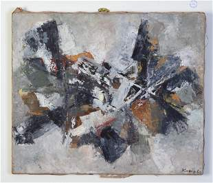 Guitou Knoop Abstract Expressionist Painting