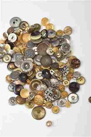 Vintage Button Lot.