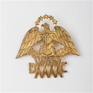 Vintage Mass Woman Driver Corps WWII Badge.