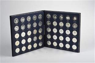 1969 Franklin Mint States of the Union Proof Set.