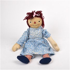 Rare Exposition Toy Company Raggedy Ann Doll.