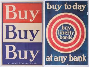 Two Small Liberty Bond Posters.