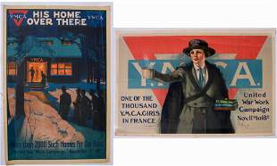 Three WWI YMCA Posters.