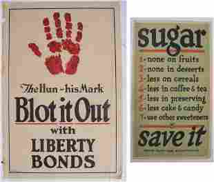 Two WWI Posters.