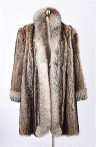 Fox Fur Coat.