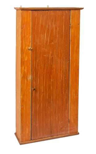 New England Pine Chimney Cupboard.