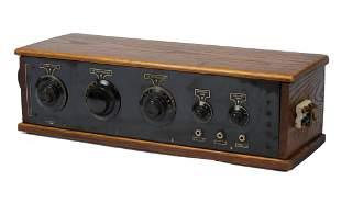 Erdman Battery-Operated Tube Radio.