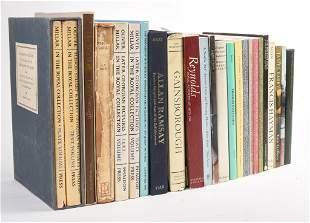 17th & 18th Century British Art (Book Lot of 24