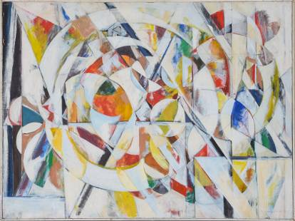 Harriet Oppenheim Abstract Painting