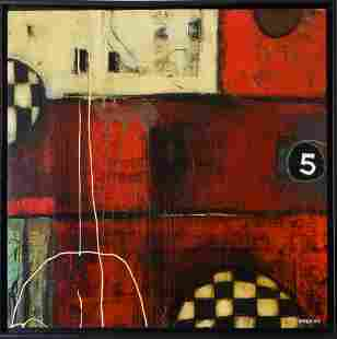 Modern Abstract Painting.