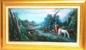 Carlos Jean Baptiste(born 1965) Haitian Art