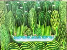 Henri Robert Bresil(1952 - 1999) Haitian Art