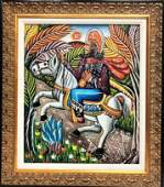ANDRE PIERRE   (Haitian Art)