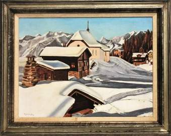 Maurice Haycock  (1900 - 1988)  Ontario, Nova Scotia /