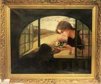 """W. J. Harris """"The Floral Token """" Signed"""