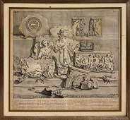 Italian Antique Print late 16th Century