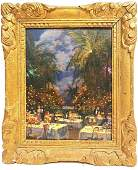 """Louis Aston Knight (1873 - 1948) """"Night in Cannes"""""""
