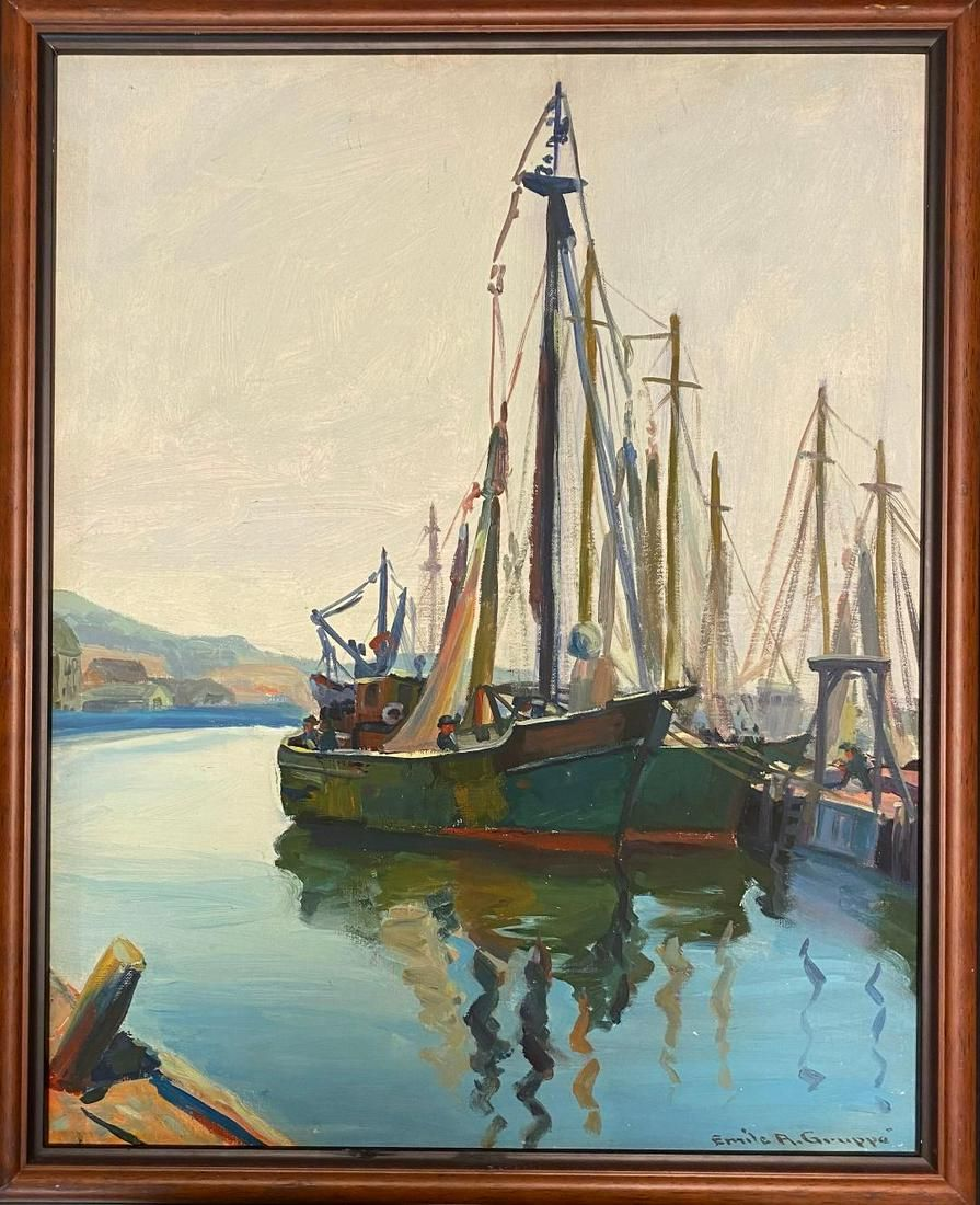 Emile Albert Gruppe (1896 - 1978) was active/lived in