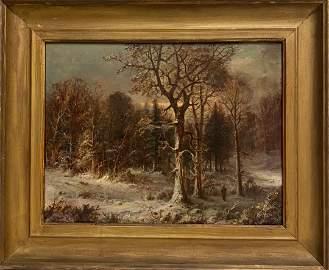 George Henry Durrie (1820 - 1863) American Paintings