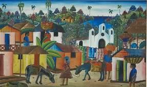 JEAN DUBIC (Haitian Art)