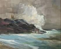 "Jay Hall Connaway (1893 - 1970) American ""Gray coast """
