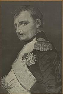Engraving Antique Napoleon Portrait For Paul Delaroche