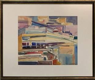 "Vaclav Vytlacil (1892 - 1984) American ""Untitled"""
