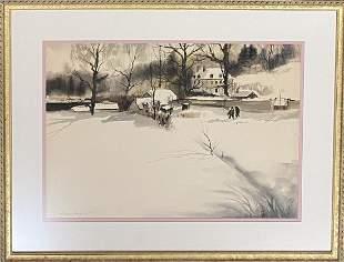 Andrew Newell Wyeth (1917- 2009) American