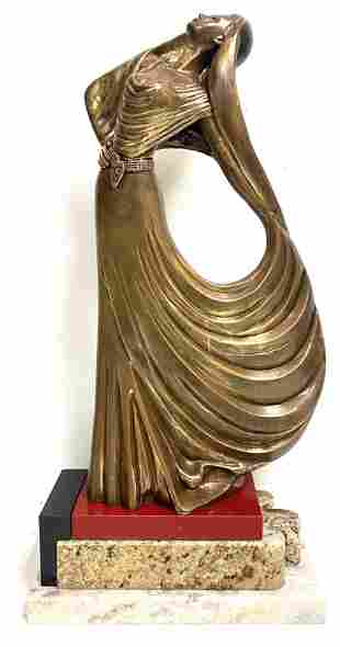 Mid Century Bronze Sculpture